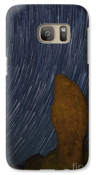 Galaxy Case featuring the photograph The Stand by Keith Kapple