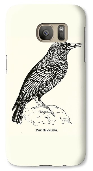 The Starling Galaxy S7 Case by English School