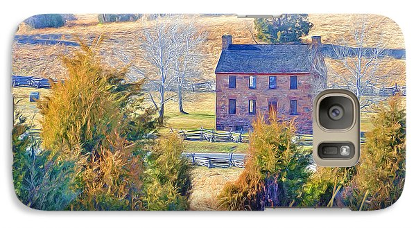 The Stone House / Manassas National Battlefield Park In Winter Galaxy S7 Case