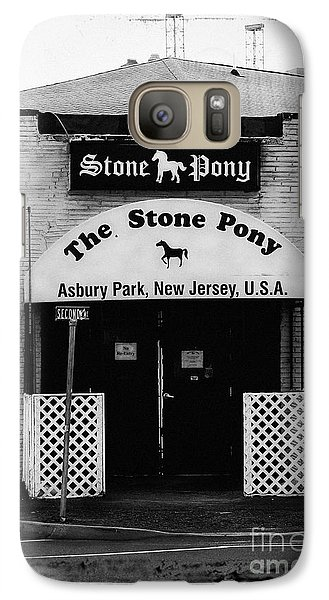 Bruce Springsteen Galaxy S7 Case - The Stone Pony by Colleen Kammerer