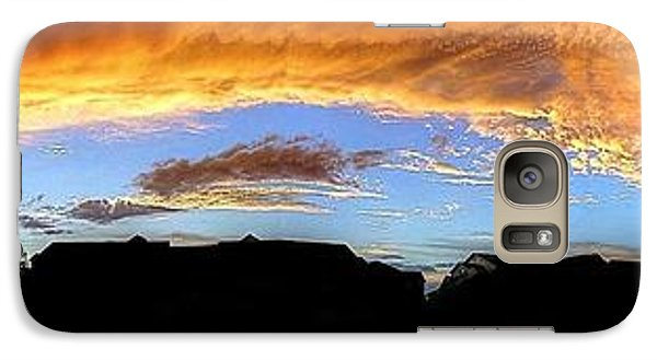 Galaxy Case featuring the photograph The Storm by Ed Roberts