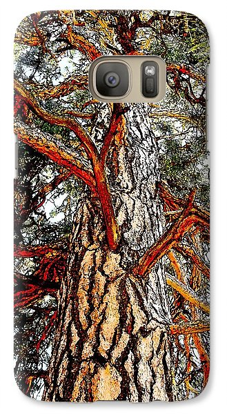 Galaxy Case featuring the photograph The Strong One by Joseph J Stevens