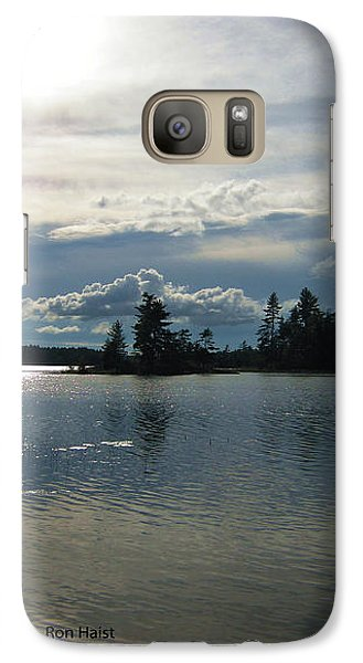 Galaxy Case featuring the photograph The Sun by Ron Haist