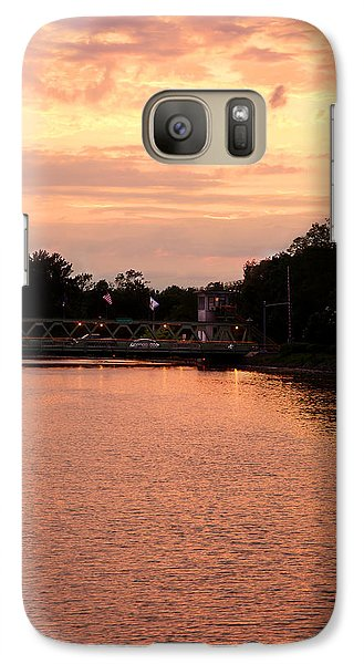 Galaxy Case featuring the photograph The Sunset by Courtney Webster