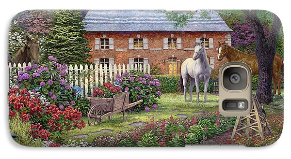 The Sweet Garden Galaxy Case by Chuck Pinson