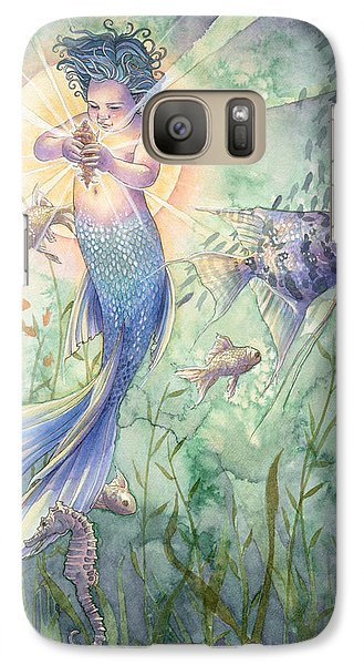 Seahorse Galaxy S7 Case - The Talisman by Sara Burrier
