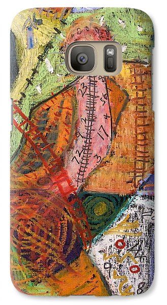 Galaxy Case featuring the painting The Tapestry by Clarity Artists