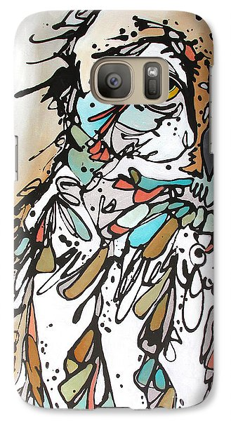 Galaxy Case featuring the painting The Teacher by Nicole Gaitan
