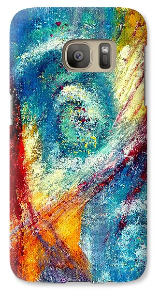 Galaxy Case featuring the painting The Tempest by Jim Whalen