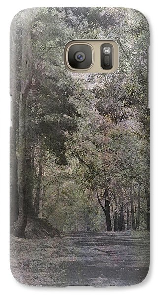 Galaxy Case featuring the photograph The Terrace by Elaine Teague