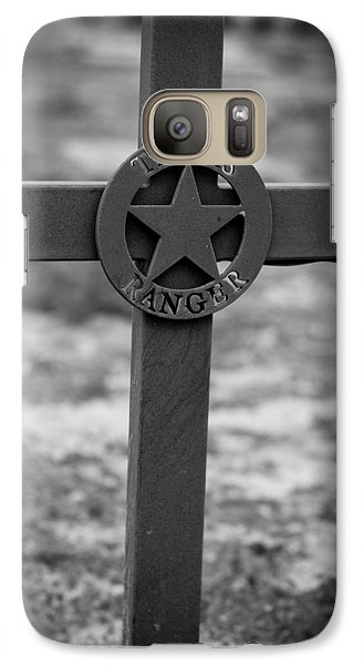 Galaxy Case featuring the photograph The Texas Ranger by Amber Kresge