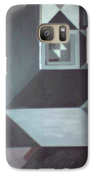 Galaxy Case featuring the painting The Third Testament by Susan  Solak