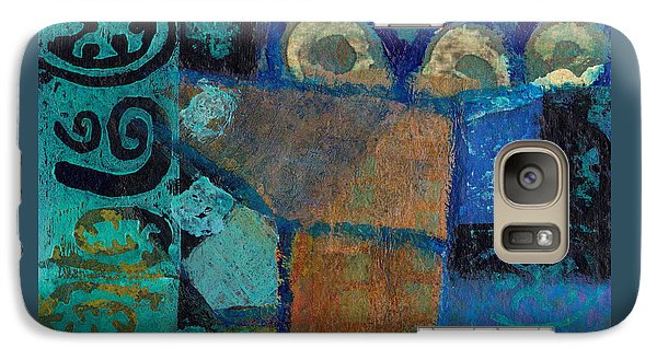 Galaxy Case featuring the mixed media The Three Musketeers by Catherine Redmayne
