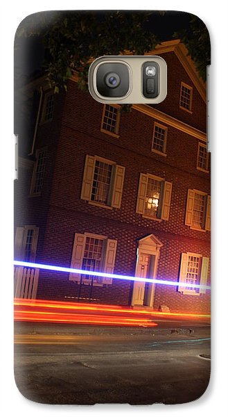 Galaxy Case featuring the photograph The Todd House Philadelphia by Christopher Woods