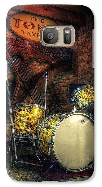 Drum Galaxy S7 Case - The Tonic Tavern by Scott Norris