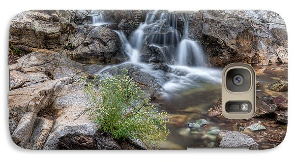 The Top Of Carr Canyon Falls Galaxy S7 Case by Beverly Parks