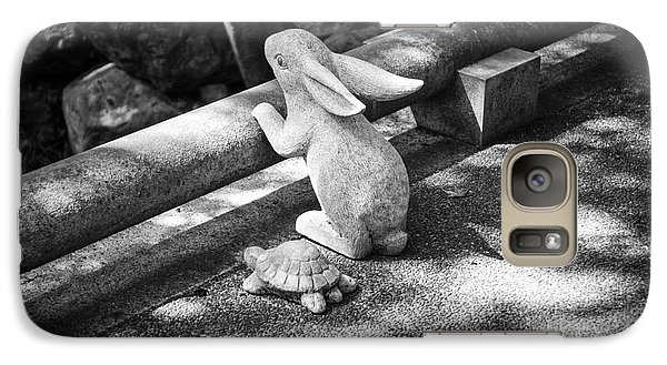 Galaxy Case featuring the photograph The Tortoise And The Hare by Dean Harte