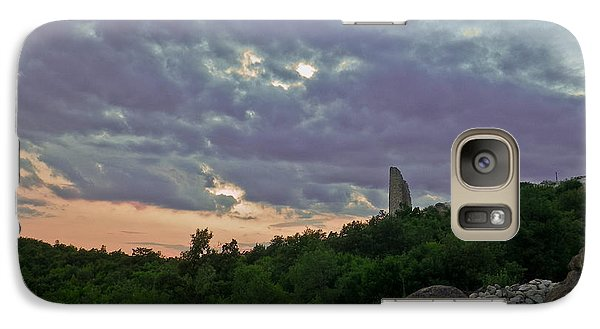 Galaxy Case featuring the photograph The Tower by Eti Reid