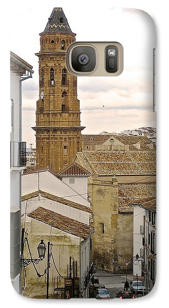 Galaxy Case featuring the photograph The Town Tower by Suzanne Oesterling