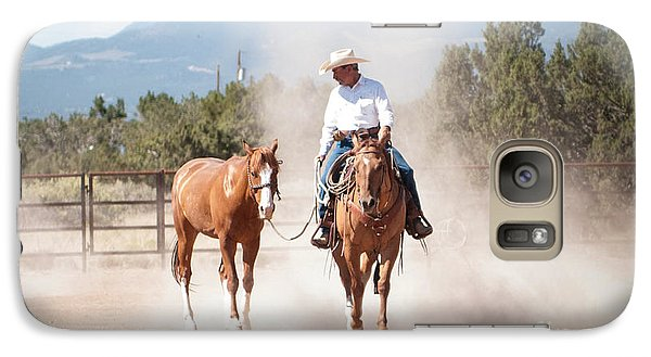 Galaxy Case featuring the photograph The Training by Sherry Davis