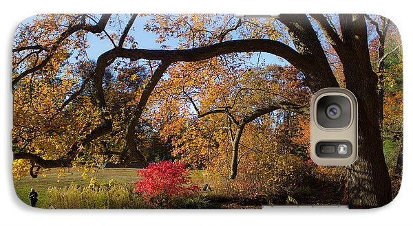 Galaxy Case featuring the photograph The Tree Embrace by Jose Oquendo