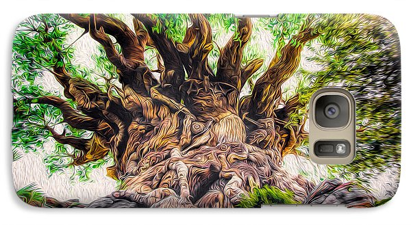 Galaxy Case featuring the photograph The Tree by Joshua Minso