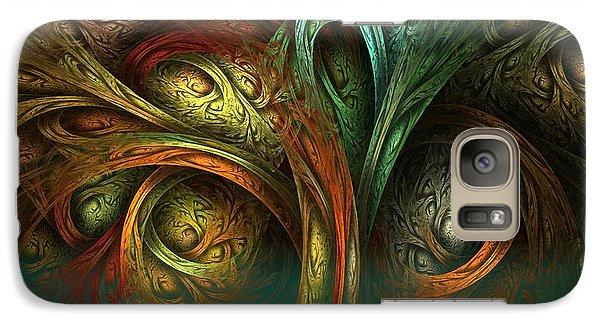 Galaxy Case featuring the digital art The Tree Of Life by Sandra Bauser Digital Art