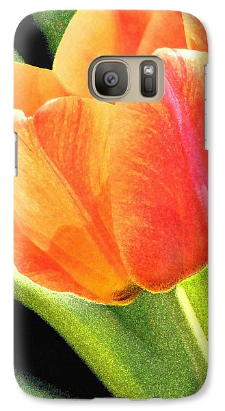 Galaxy Case featuring the digital art The Tulip by Gene Walls
