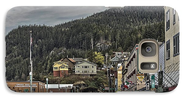 Galaxy Case featuring the photograph The Tunnel In Ketchikan  by Timothy Latta