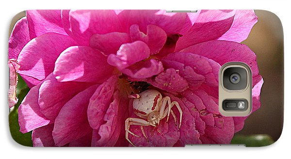 Galaxy Case featuring the photograph The Ugly Side Of Pink 2 by Erica Hanel