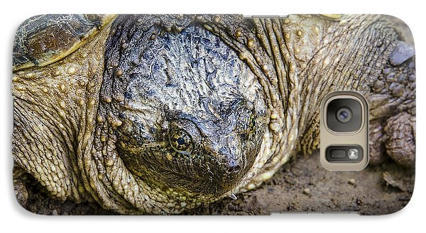 Galaxy Case featuring the photograph The Ugly Snapper by Bradley Clay