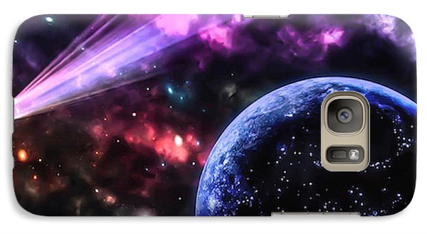 Galaxy Case featuring the photograph The Undiscovered Planet  by Naomi Burgess