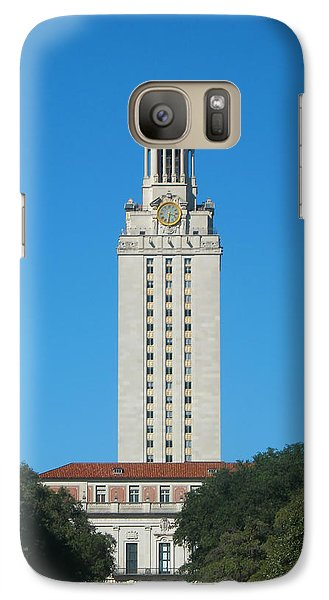 Galaxy Case featuring the photograph The University Of Texas Tower by Connie Fox
