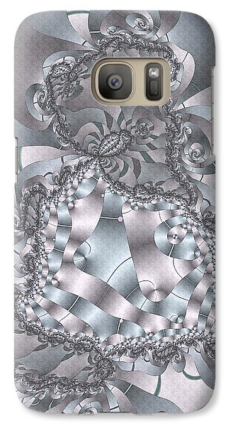 Galaxy Case featuring the digital art The Unraveling by Owlspook