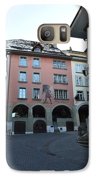 Galaxy Case featuring the photograph The Upper Town by Felicia Tica