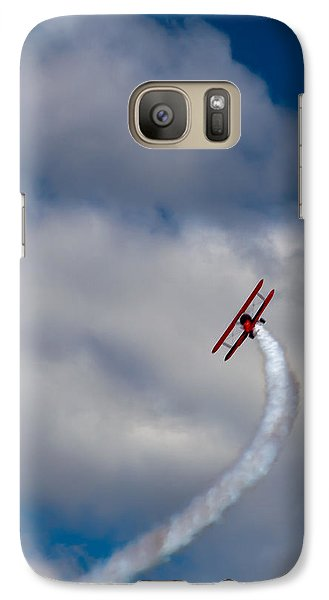The Vapor Trail Galaxy S7 Case by David Patterson