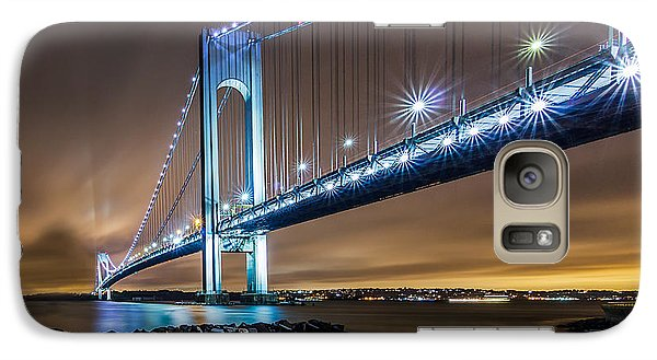 Galaxy Case featuring the photograph The Verrazano by Anthony Fields