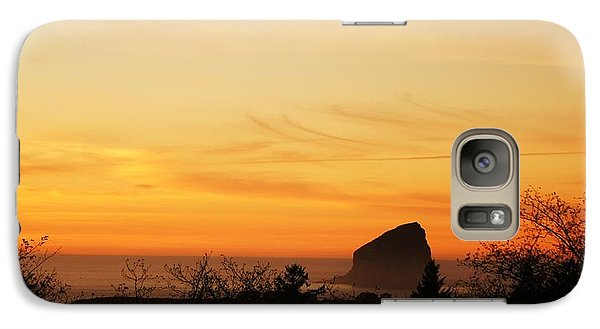 Galaxy Case featuring the photograph The View by Angi Parks