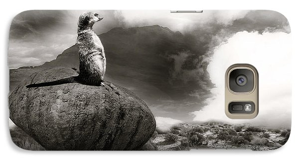 Galaxy Case featuring the photograph The View by Christine Sponchia