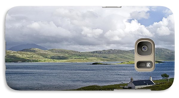 Galaxy Case featuring the photograph The View Northern Highlands Of Scotland by Sally Ross
