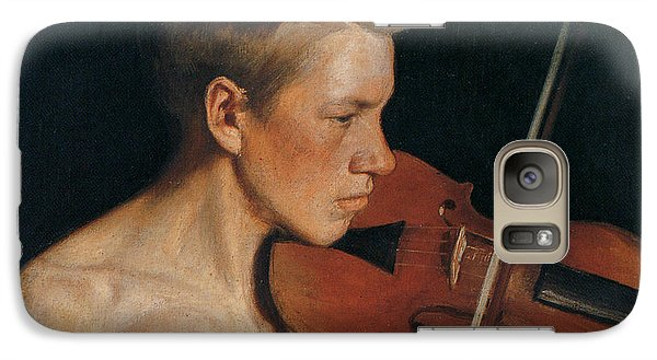 Violin Galaxy S7 Case - The Violinist by Celestial Images