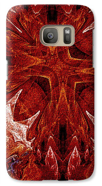 Galaxy Case featuring the digital art The Vision Tree by Owlspook