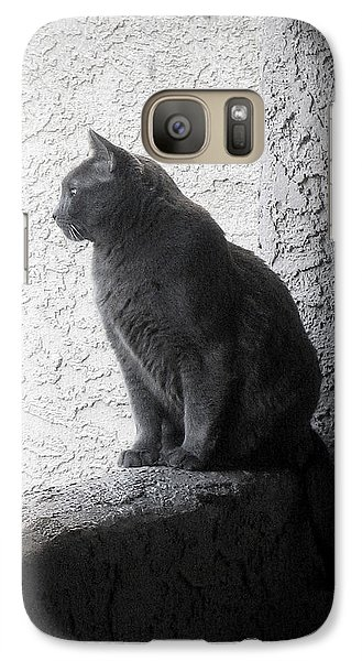 Galaxy Case featuring the photograph The Visitor by Tammy Espino
