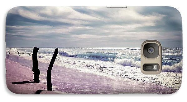 Galaxy Case featuring the photograph The Voice Of The Sea by Thierry Bouriat