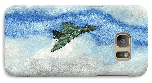 Galaxy Case featuring the painting The Vulcan Bomber by John Williams