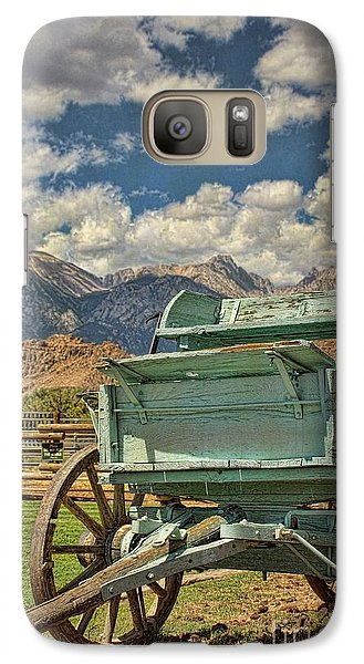 The Wagon Galaxy S7 Case by Peggy Hughes