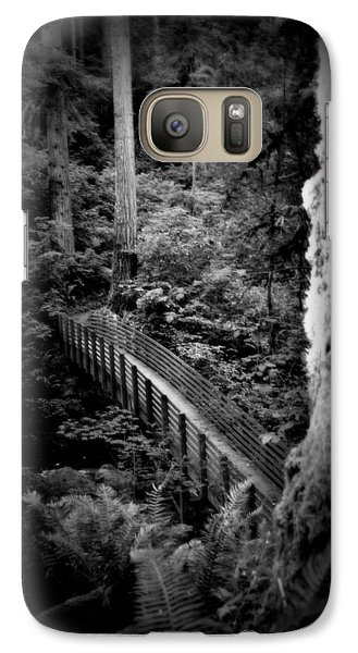 Galaxy Case featuring the photograph The Walk Above by Amanda Eberly-Kudamik