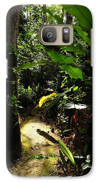 Galaxy Case featuring the photograph The Walk In Beauty by Kicking Bear  Productions