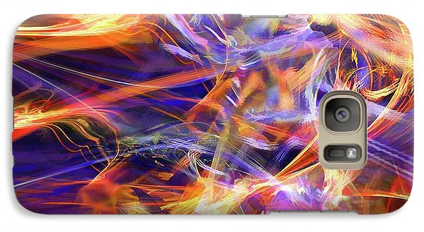 Galaxy Case featuring the digital art The Walk by Margie Chapman