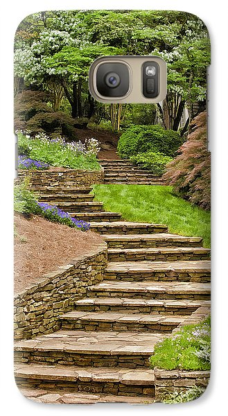 Galaxy Case featuring the photograph The Walk Up by Linda Blair